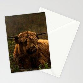 Scottish Highland hairy cow Stationery Cards