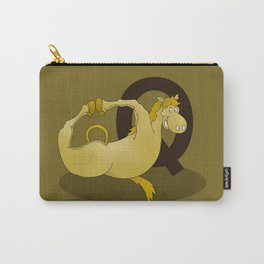 Monogram Q Pony Carry-All Pouch