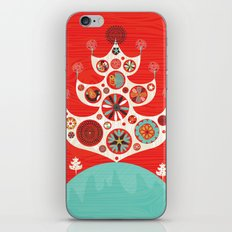 Festive Yule Christmas Tree iPhone & iPod Skin
