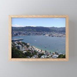 Wellington Waterfront Framed Mini Art Print