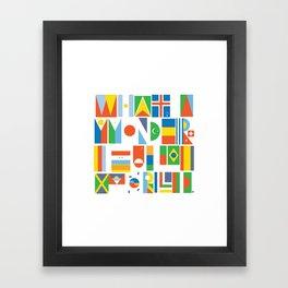 What A Wonderful World II Framed Art Print