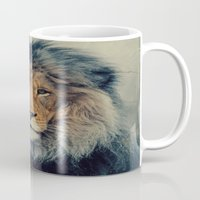 lion king Mugs featuring Lion King by Urban Underdogs