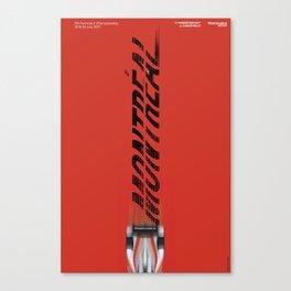 Mahindra Racing FIA Formula E Season 3 Race 11 12 Montreal ePrix Poster Canvas Print