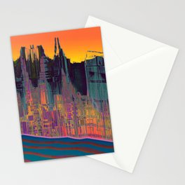 At The Energy River Stationery Cards