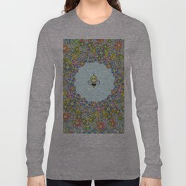FLOWER POWER BEE Long Sleeve T-shirt