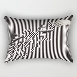 disturb Rectangular Pillow
