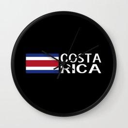 Costa Rica: Costa Rican Flag & Costa Rica Wall Clock