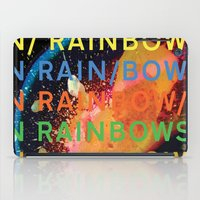 radiohead iPad Cases featuring Radiohead - In Rainbows by NICEALB