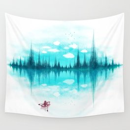 Sound Of Nature Wall Tapestry