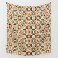 square Wall Tapestries featuring Square by samedia