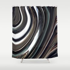 SPHERES GONE Shower Curtain