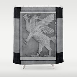Tiamat Shower Curtain