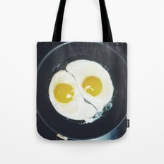 Yin-yang breakfast Tote Bag