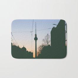 Berlin TV Tower Fernsehturm Bath Mat