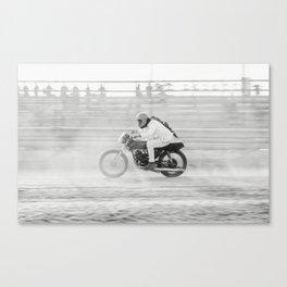 Retro Racer Canvas Print