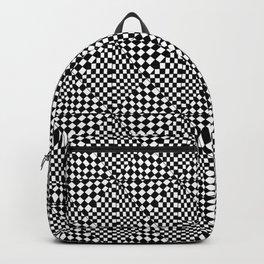 Symetric triangle 4 -vichy, gingham,strip,triangle,geometric, sober,tartan,mandala Backpack