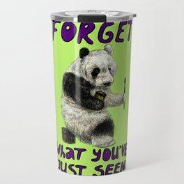 Conspiracy // false panda Travel Mug