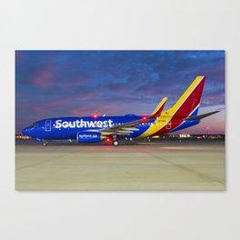 Southwest Sunset! Canvas Print