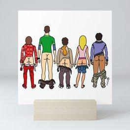 Big Butt Theory Mini Art Print