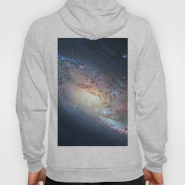 Spiral Galaxy M106, in the constellation Canes Venatici. Hoody