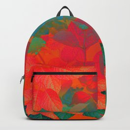 """Intense Pastel Hydrangeas-Passion"" Backpack"