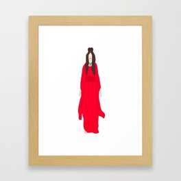 Madge 6 Nothing Really Matters Framed Art Print