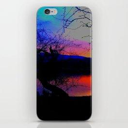 Lake Sunset iPhone Skin