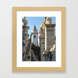 Cementerio de la Recoleta Framed Art Print