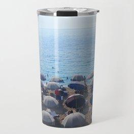 Beach. Ionian Sea. Greek Islands. Travel Mug