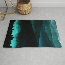 Indigo Mountains Rug