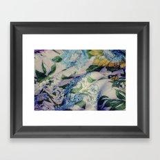 Blue Bell Framed Art Print