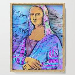Mona Lisa Serving Tray