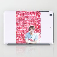 arctic monkeys iPad Cases featuring Bigger Boys and Stolen Sweethearts - Arctic Monkeys by Frances May K