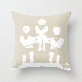 WORLD HERITAGE 9 Throw Pillow