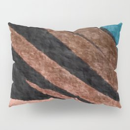 Dark Grace [2]: an abstract watercolor by Alyssa Hamilton Art Pillow Sham
