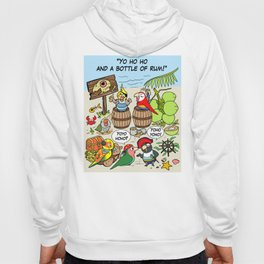 Pirate parrots Hoody