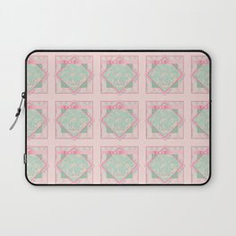 Button and Bows Laptop Sleeve