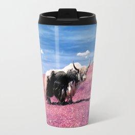 Pink Yack Travel Mug