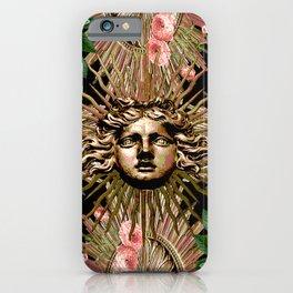 Rose Garden Gate iPhone Case