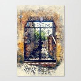 Erice art 10 Canvas Print