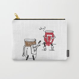 Peanut Butter Turns on Jelly Carry-All Pouch