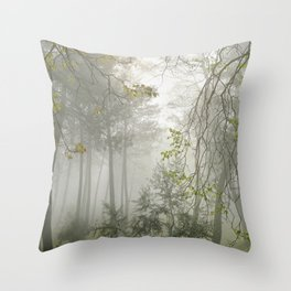 Dream forest. Sierras de Cazorla, Segura y Las Villas Natural Park Throw Pillow
