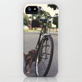 Cat Fancy iPhone Case