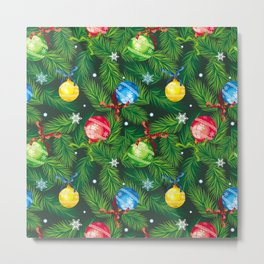 Holiday background Metal Print