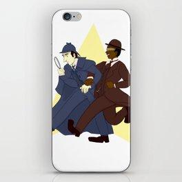 Data and Geordi as Sherlock and Watson iPhone Skin