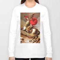 napoleon Long Sleeve T-shirts featuring Napoleon by Marko Köppe