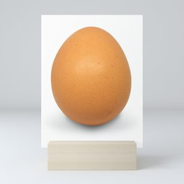 Chicken Egg , the brown eggs Artistic inspiration Mini Art Print