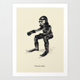 Wannabe Biker Art Print