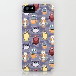 Owl Get You iPhone Case