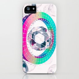 Spectral Boundary iPhone Case